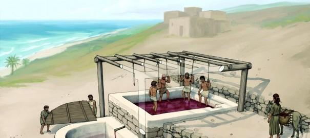 Primul teasc fenician a fost descoperit! Ce utilizări avea?
