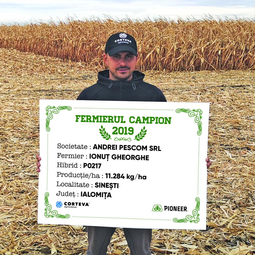 fermierii campioni, hibrizii de porumb pioneer